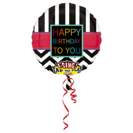 3000501ANP60 Happy Birthday –  Singender Chervon