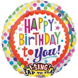 2686901ANP60 Happy Birthday –  Singender Punkte