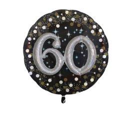 Funkelnder Geburtstag 3D – 60