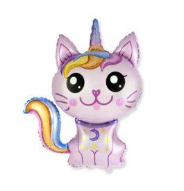 magische Katze in pink
