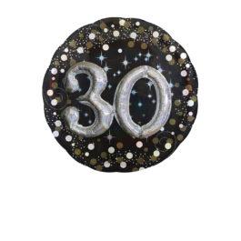 Funkelnder Geburtstag 3D – 30