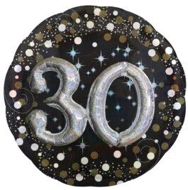 3215101ANP75 Funkelnder Geburtstag 3D – 30