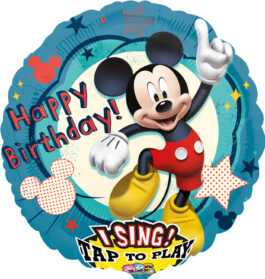 2349101ANP75 Happy Birthday –  Singender Mickey Maus
