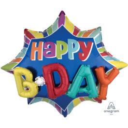 "3357404ANP45 ""Happy B-day"""