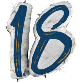 G31001GHB Matte Nummer 18 blau