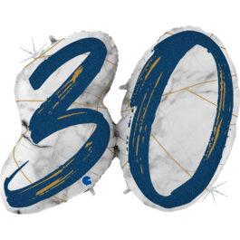 G31003GHB Matte Nummer 30 blau