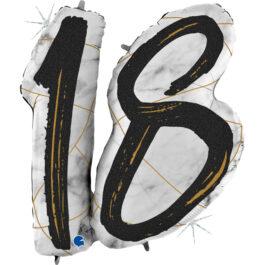 G31008GHK Matte Nummer 18 schwarz